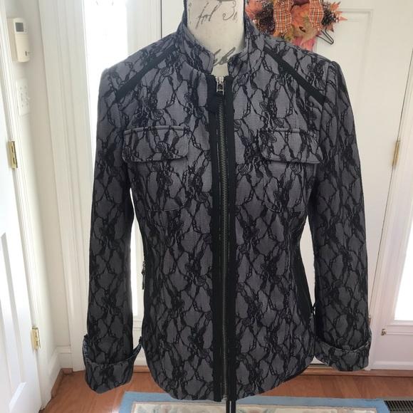 Tribal Jackets & Blazers - Tribal Lace Black Blazer
